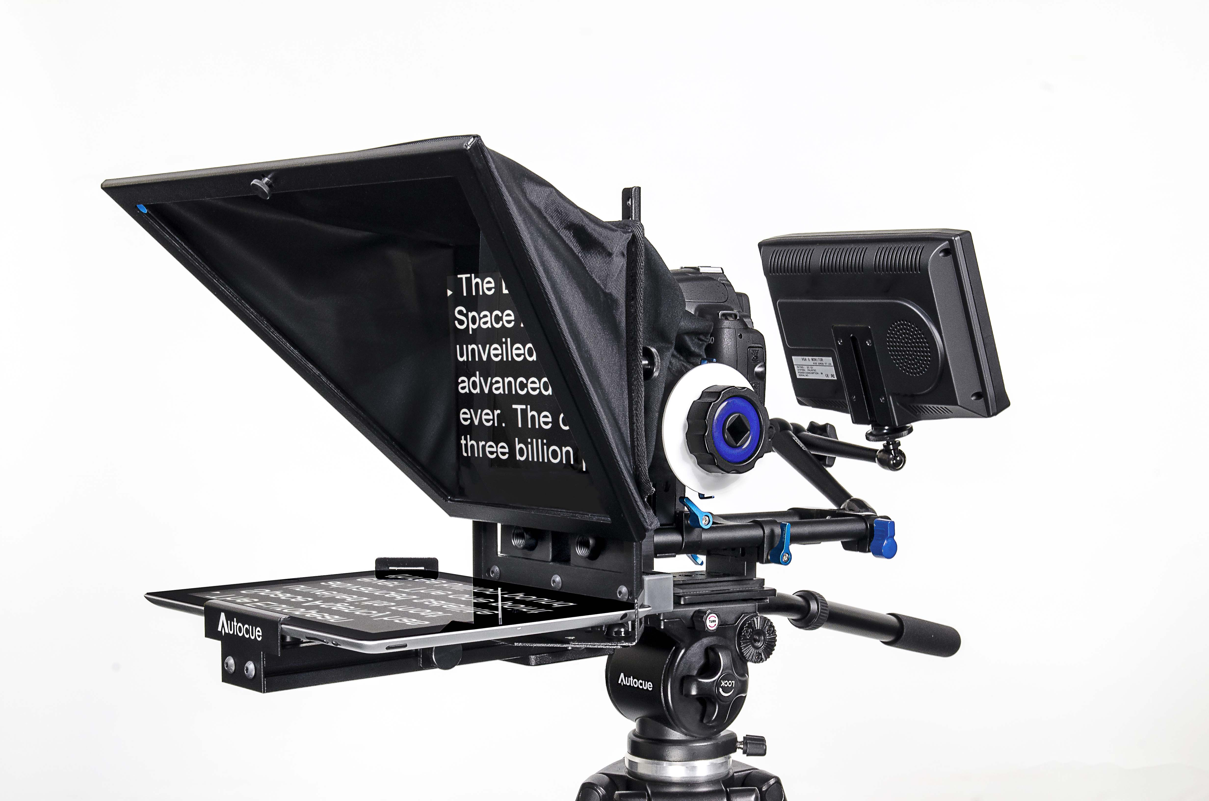 why a dslr teleprompter