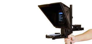 Portable iPad Teleprompter